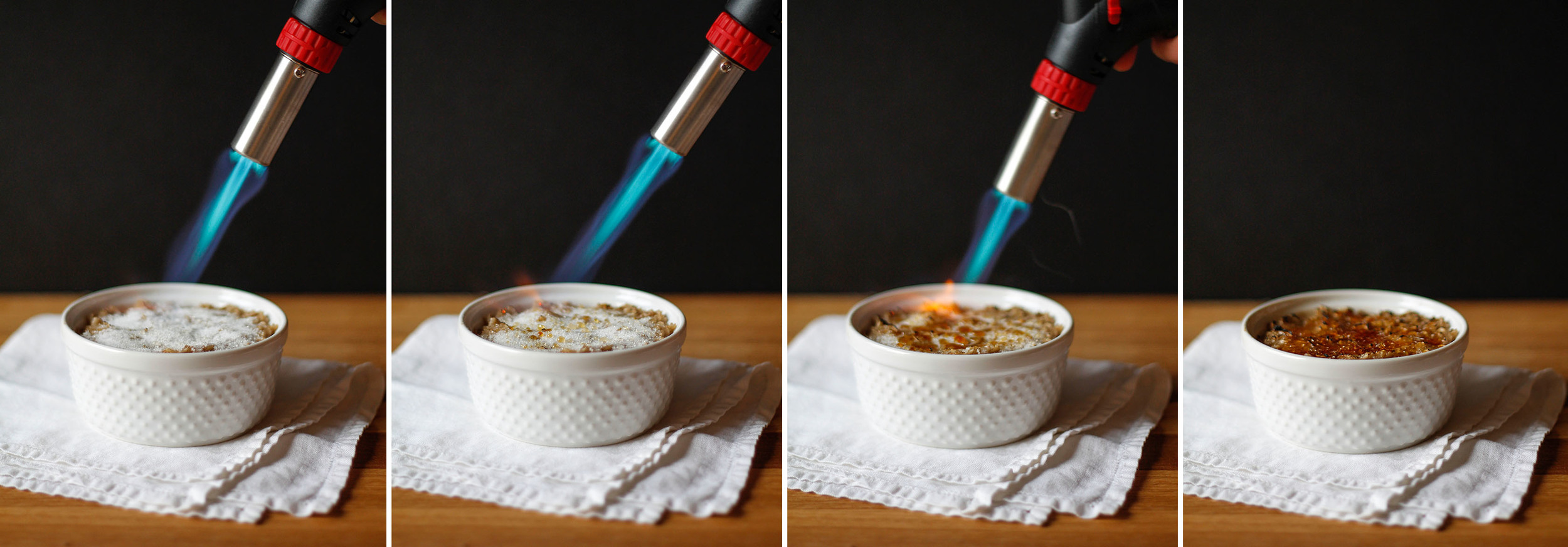 torching the oatmeal | roux studio