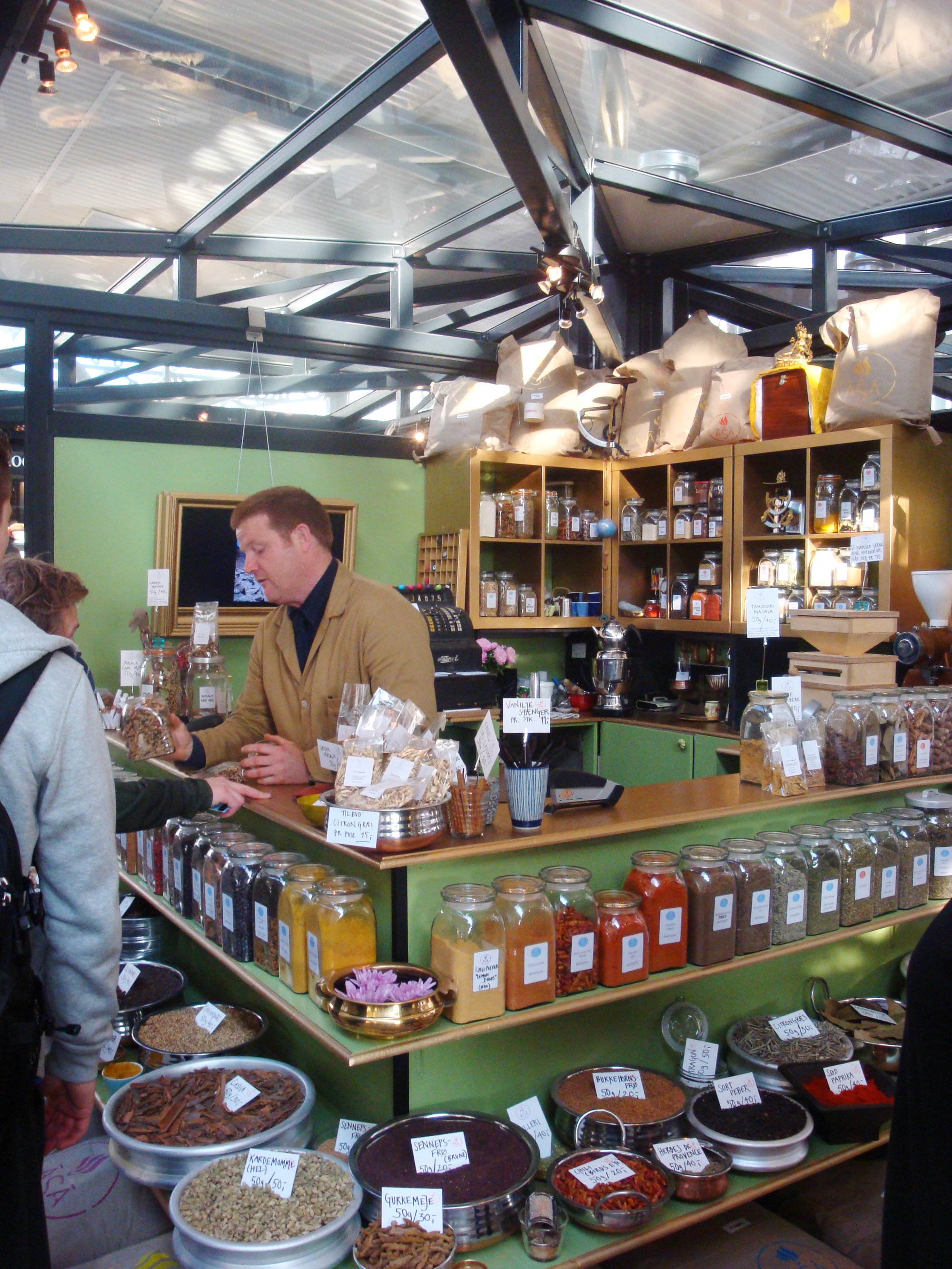 Spices at Torvehallerne Market