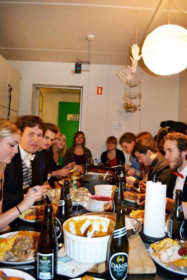 Danes' first Thanksgiving