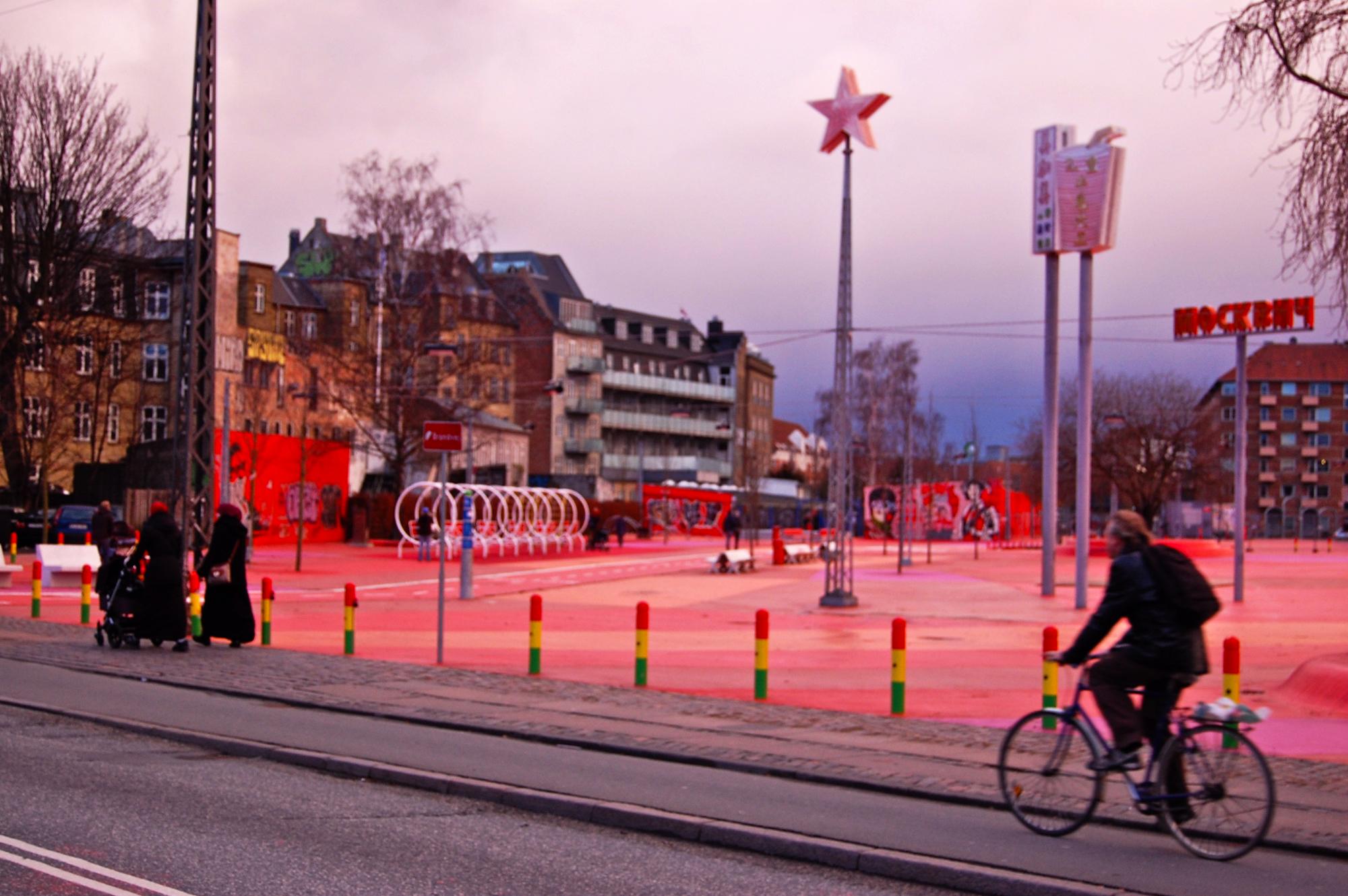 BIG's Superkilen park in Nørrebro