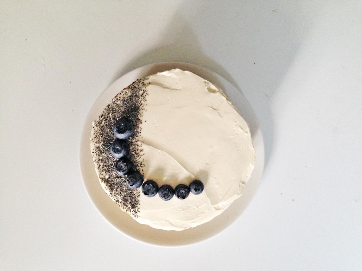 Vanilla Naked Cake Roux Studio
