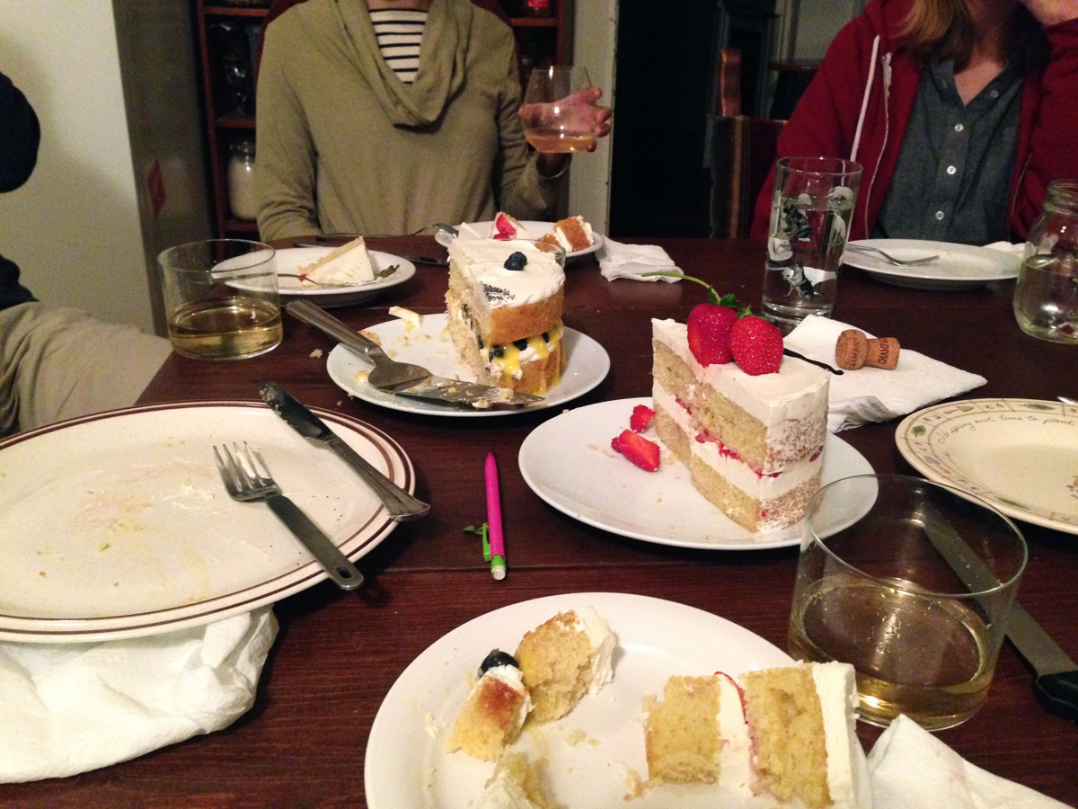 Enjoying the Vanilla Cakes Roux Studio