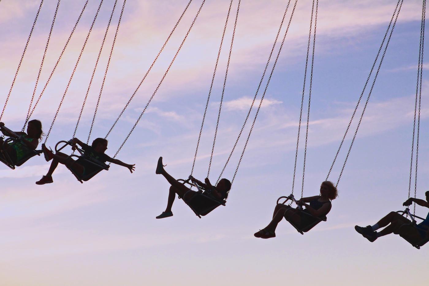 Flyin' High at the County Fair