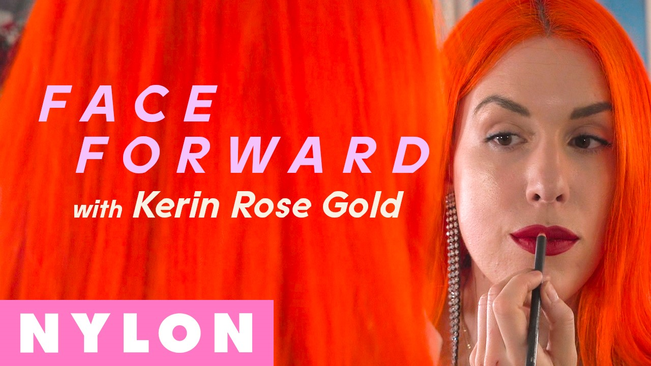 Eyewear designer, crystal artist, and founder of  A-Morir ,  Kerin Rose Gold , tells us how her relationship with makeup has changed in tandem with her relationship with herself. Now, she uses her makeup the same way she uses her bold hair and big outfits: to accentuate the parts of herself that she loves.