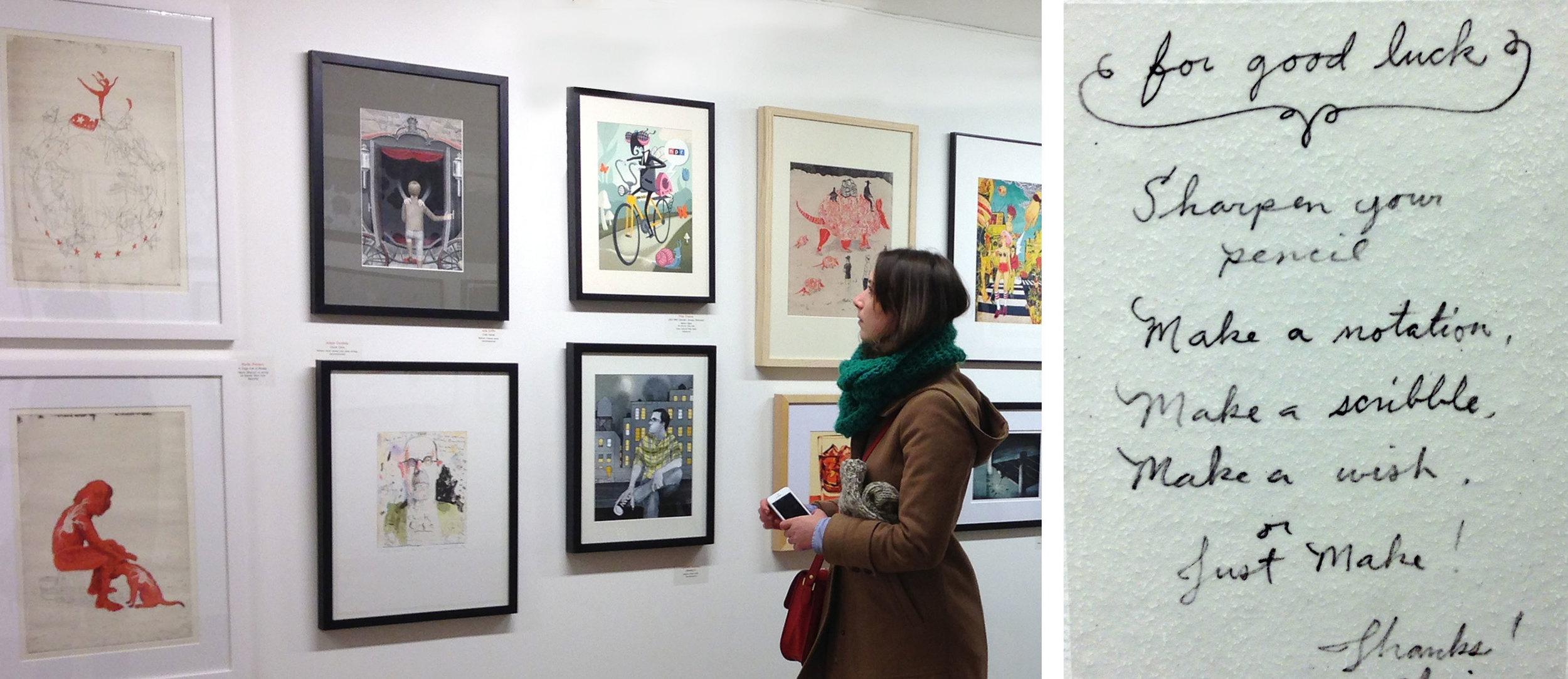 IDEA Grad 2013 visits the Society of Illustrators, NYC