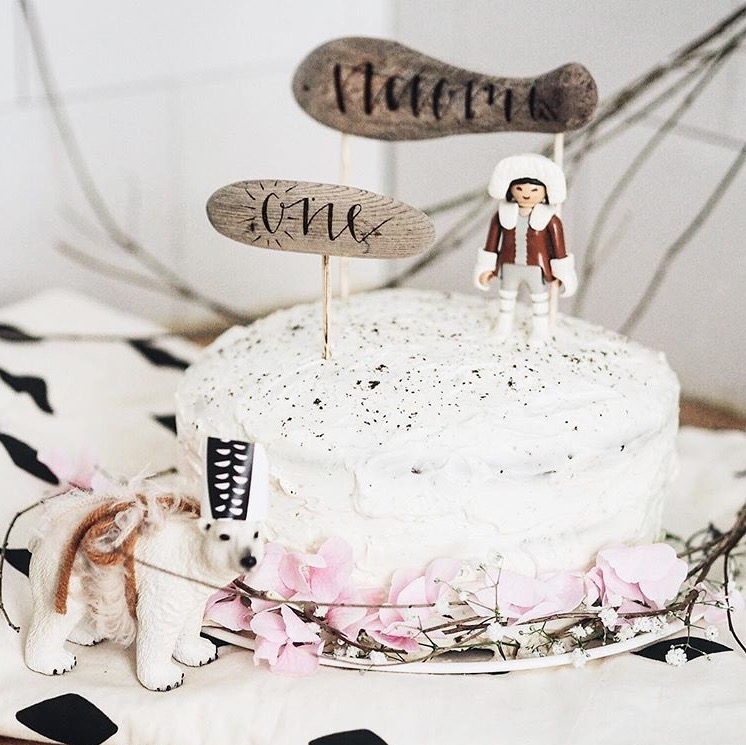 PHOTO & DESIGN: Laëtitia // @MADISGOOD ON INSTAGRAM  CAKE TOPPER: FIR AND FOREST