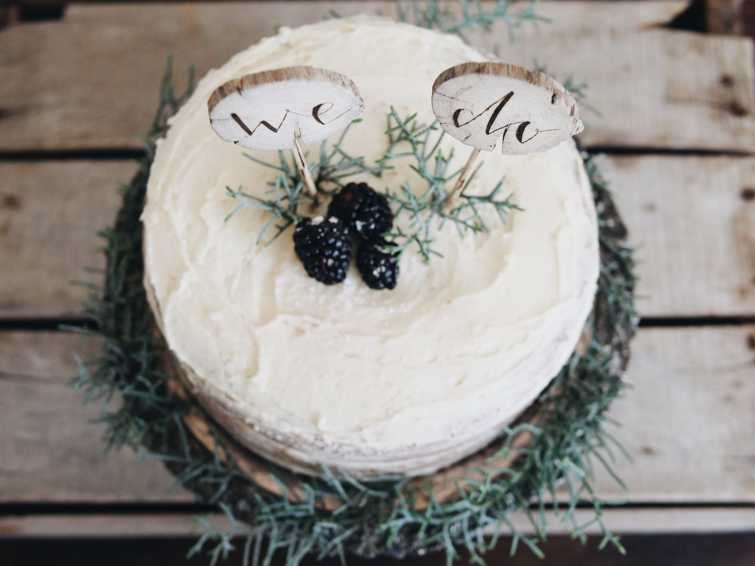 DESIGN, CAKE, CAKE TOPPER: FIR AND FOREST STYLED SHOOT