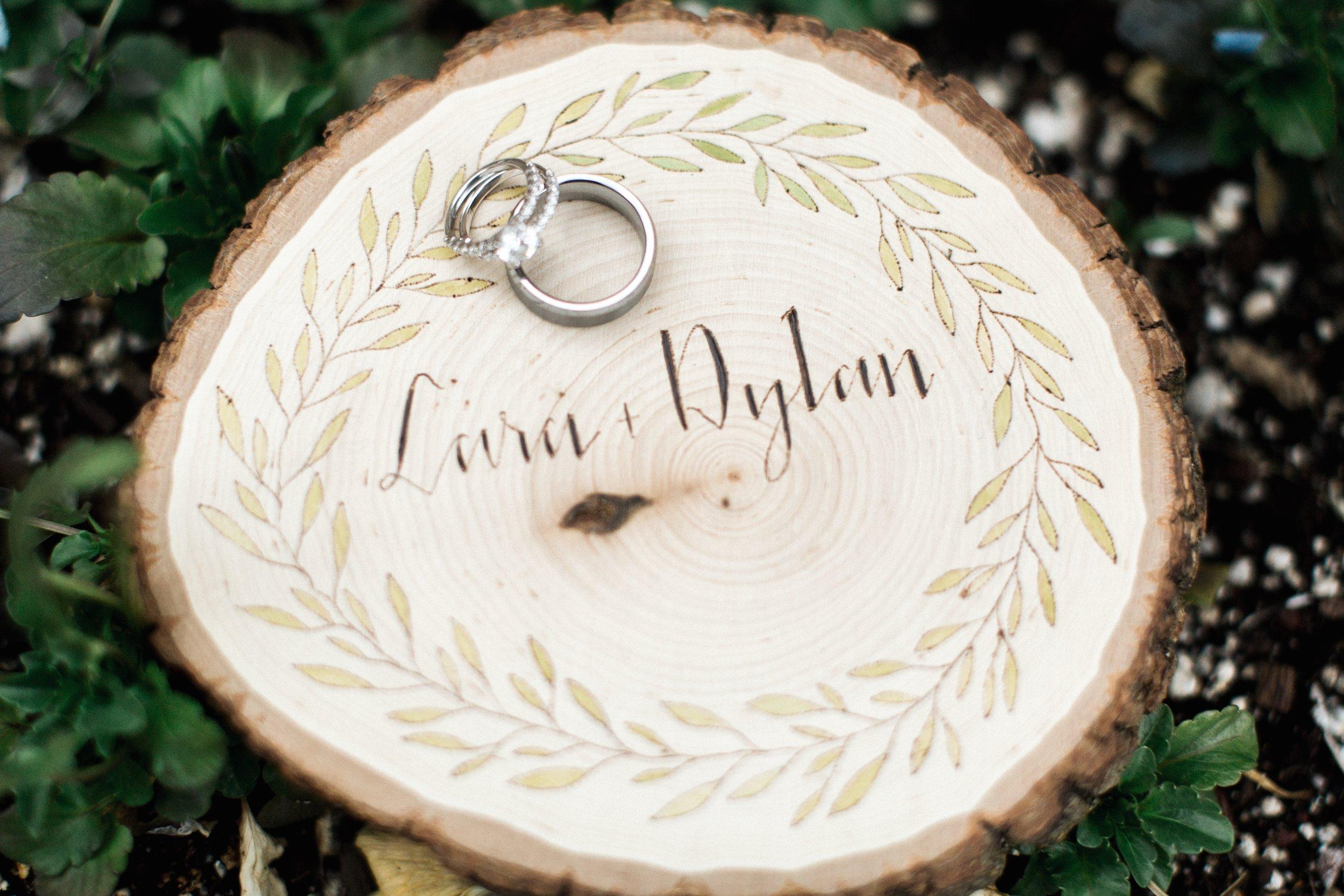 CUSTOM SIGN FOR LARA & DYLAN WEDDING, SALT LAKE CITY, UT