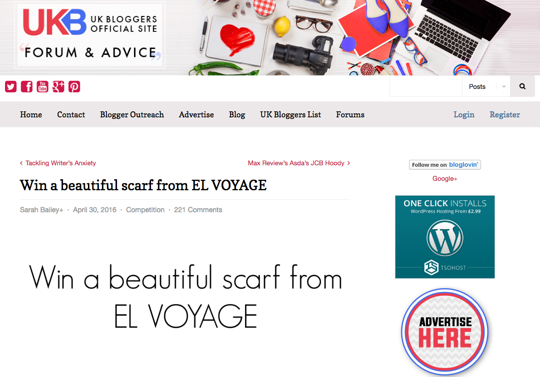 ukb bloggers and el voyage