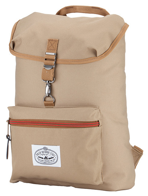 Poler: The Field Pack   This pack wants to go on the everyday adventure to school or work, or up a tree to eat a double-scoop ice cream cone.  You can fill it with over 114,000,000 camp vibes!  Made in China  $50   polerstuff.com