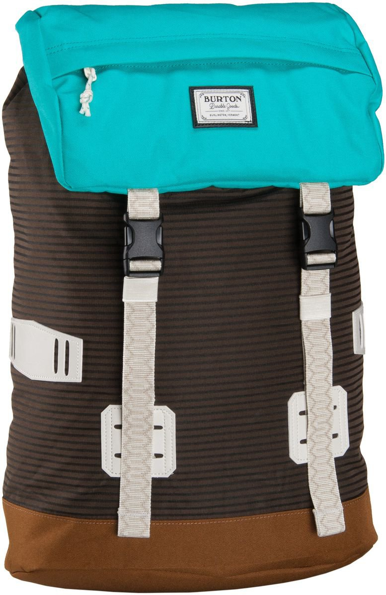 """Burton // Tinder   This color is called the """"Beaver Tail Crinkle,"""" but it comes in other colors. It's your basic get-in-the-truck pack with all the pockets you need, plus a side-door laptop compartment and good vibes.   $69.95 //  burton.com  //Made in Asia"""