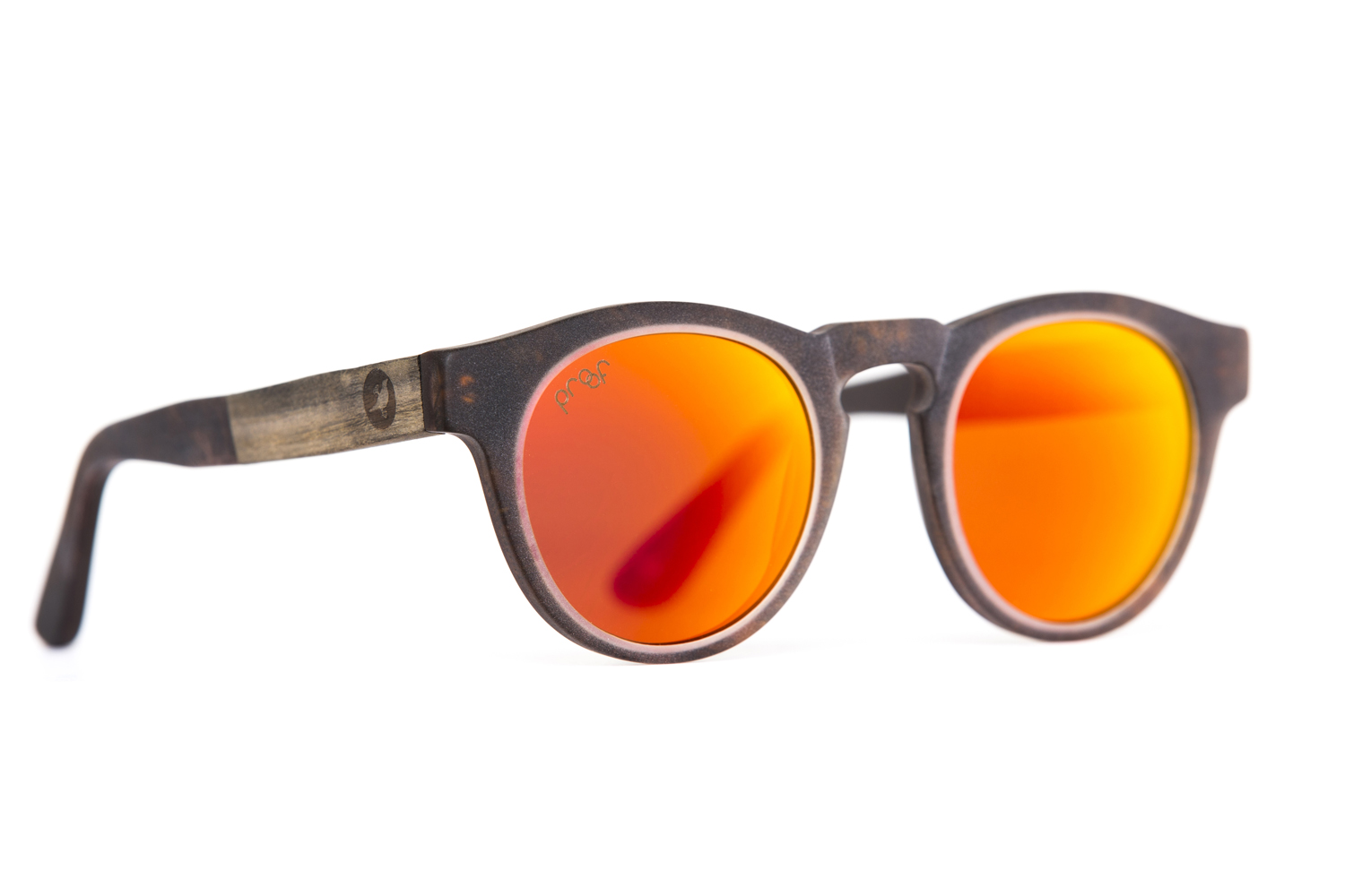 "These shades are good: Cotton-based acetate & sustainably sourced wood, CR39 lens / 100 UVA-UVB protection, 5-barrel hinges, and the words ""Adventure Awaits"" is written inside the frames. These shades are made by  Proof ."