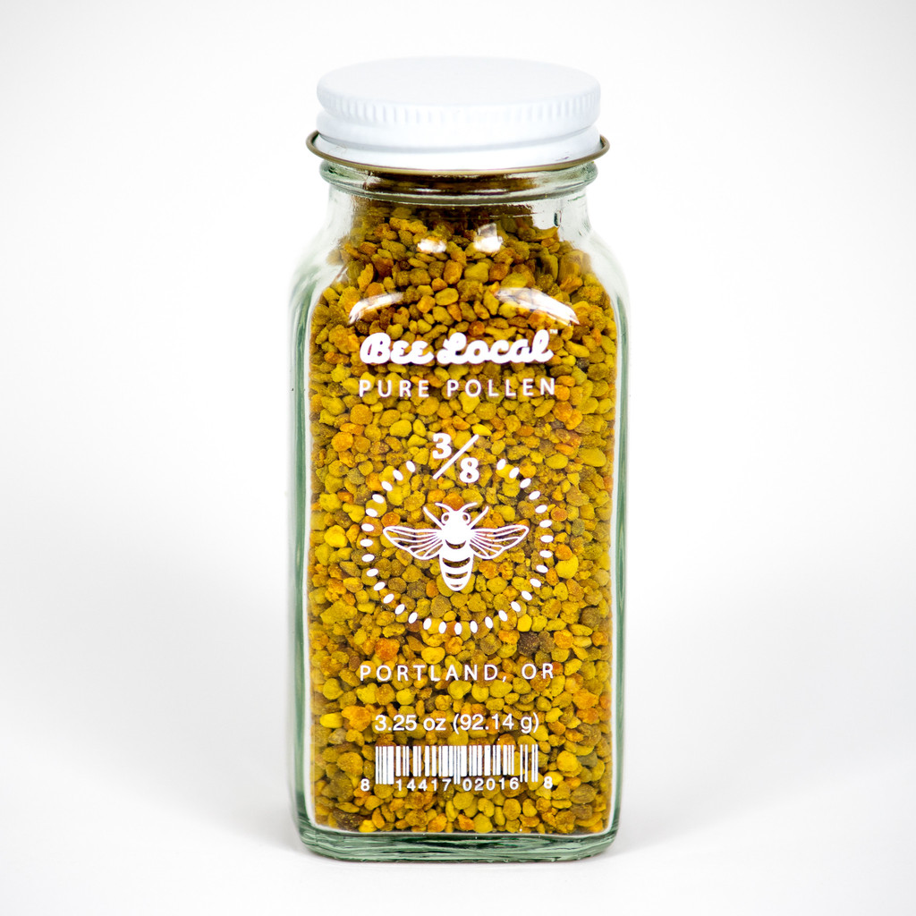 Get some Bee Pollen from Portland Oregon's  Bee Local  and get bizzzzzzzzy living! (Bee jokezzzzz.)
