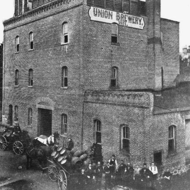 The Union Brewery, Vancouver, 1902