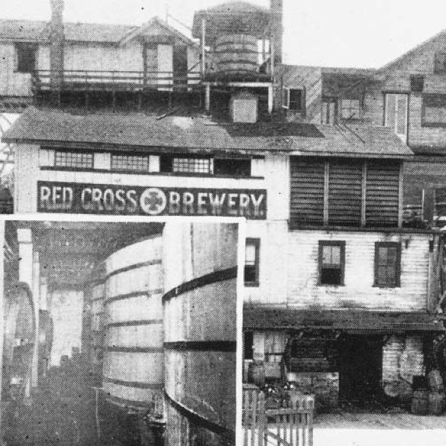 The Red Cross Brewery, Vancouver, 1898
