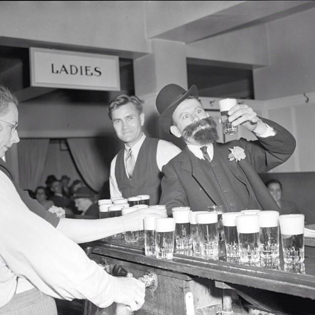 Kinsman Carnival Beer Parlour, Vancouver, 1942