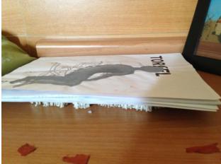 4:宜家下的群众(绘画装置) Masses under the IKEA leaflet (painting installation)