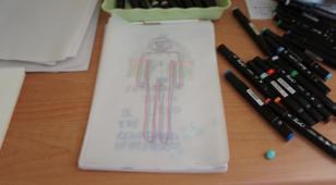 18:互相描摹(互动行为) Tracing each other's drawings (Interaction)