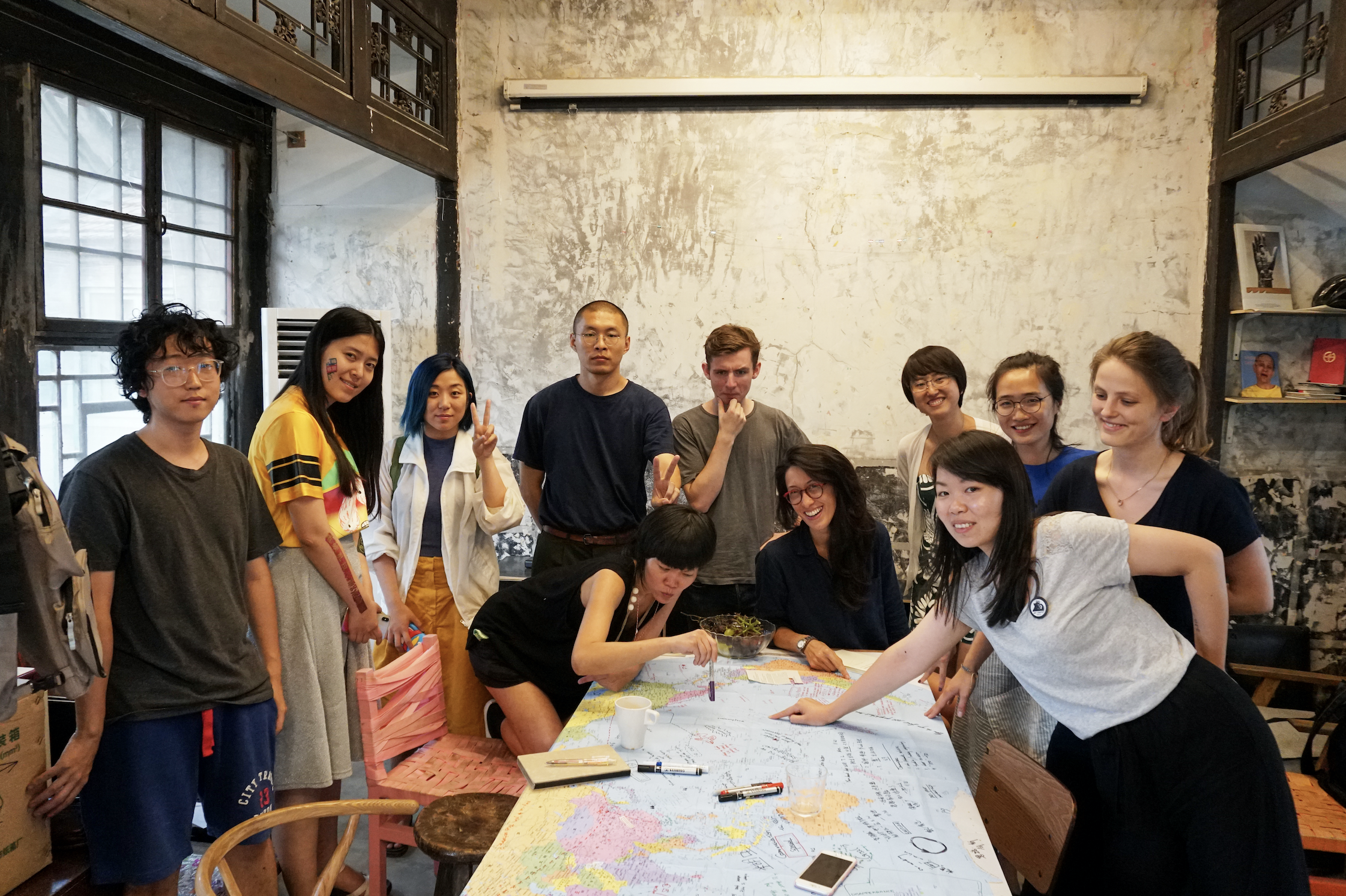 D.A.E. workshop participants