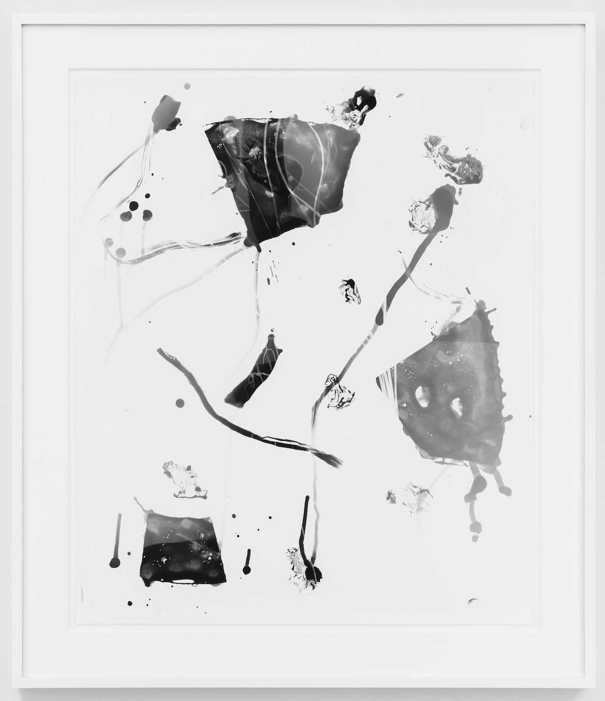 Untitled  2013  Unique silver gelatin print  61 x 50.8 cm / 24 x 20 in,74.5 x 64.3 cm / 29.5 x 27.3 in framed