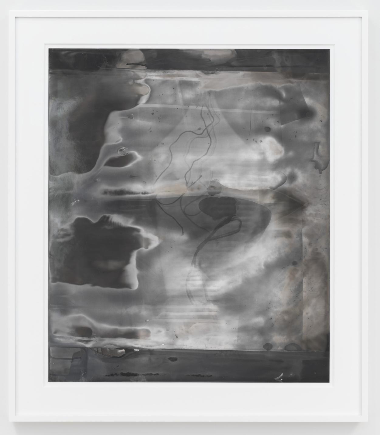 Untitled 2013 Unique silver gelatin print 61 x 50.8 cm / 24 x 20 in, 74.5 x 64.3 cm / 29.5 x 27.3 in framed