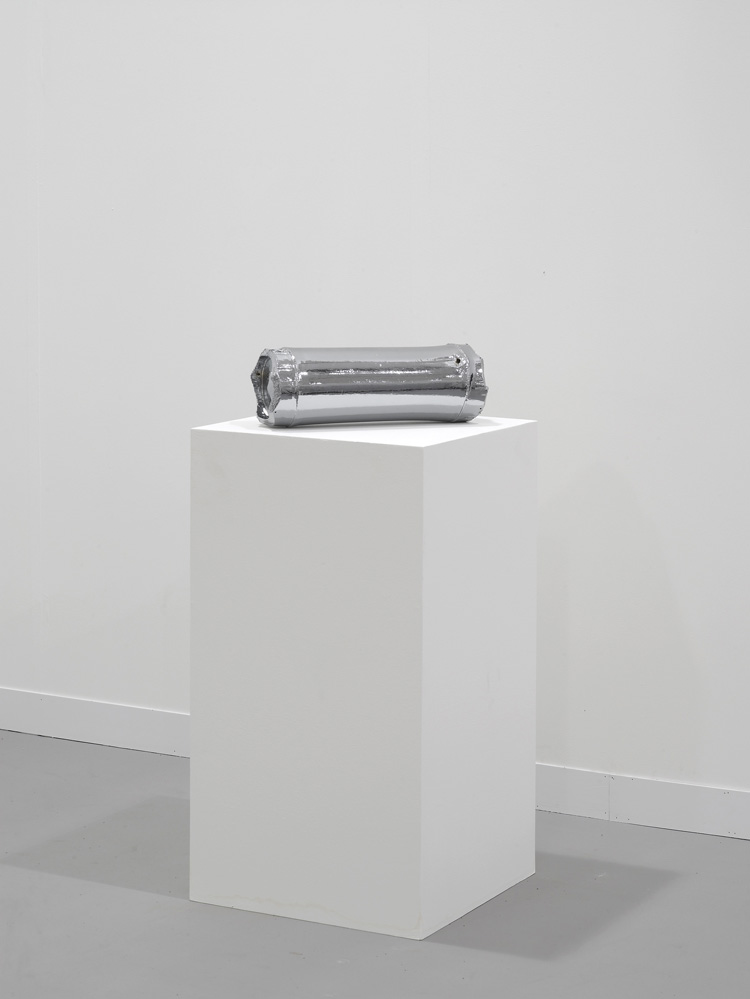 Untitled (Time Capsule) 2011 Chrome plated bamboo 15.2 x 15.2 x 43 cm / 6 x 6 x 17 in