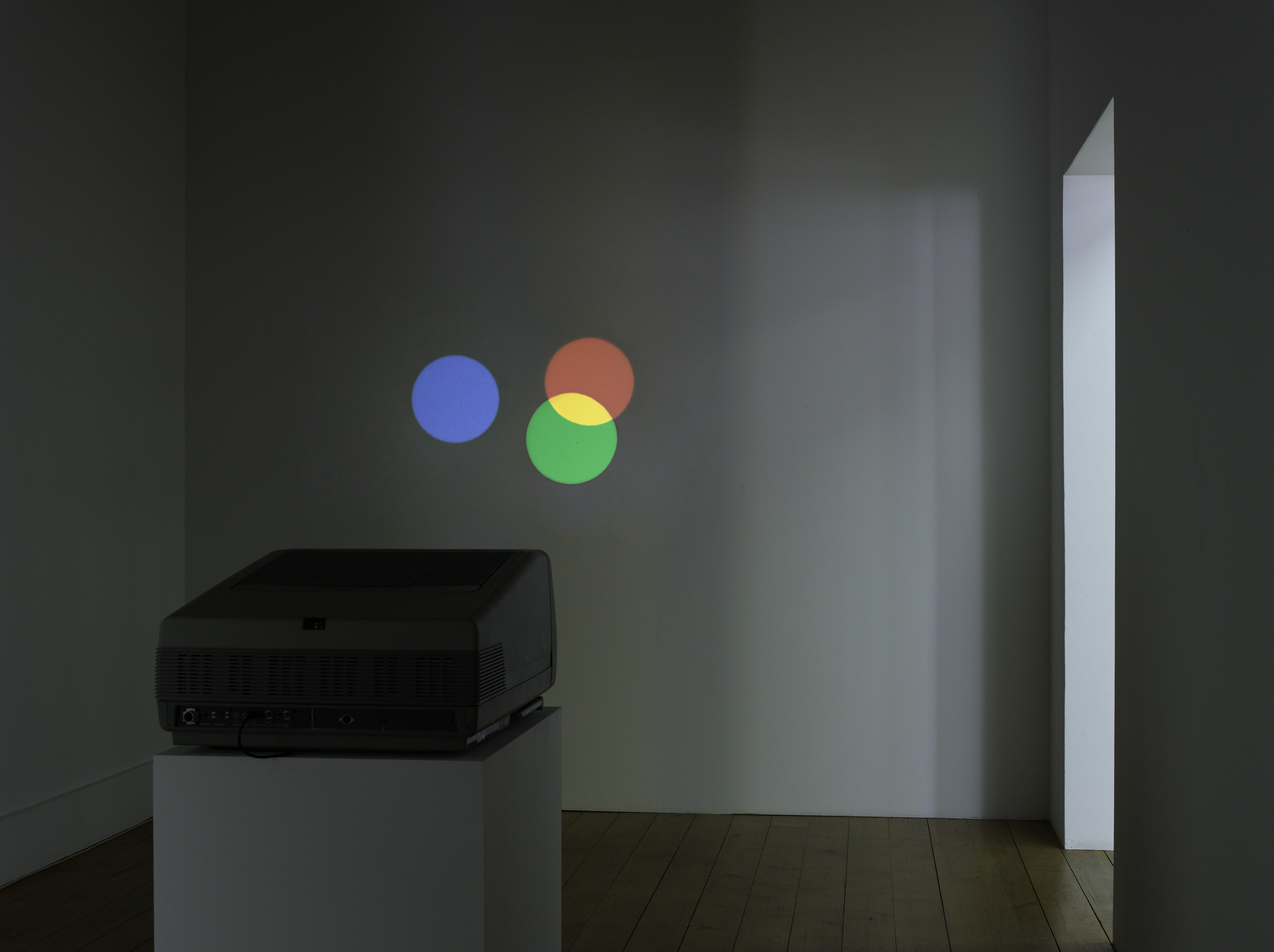 Untitled (RGB)   2008   CRT projector, DVD   Dimensions variable