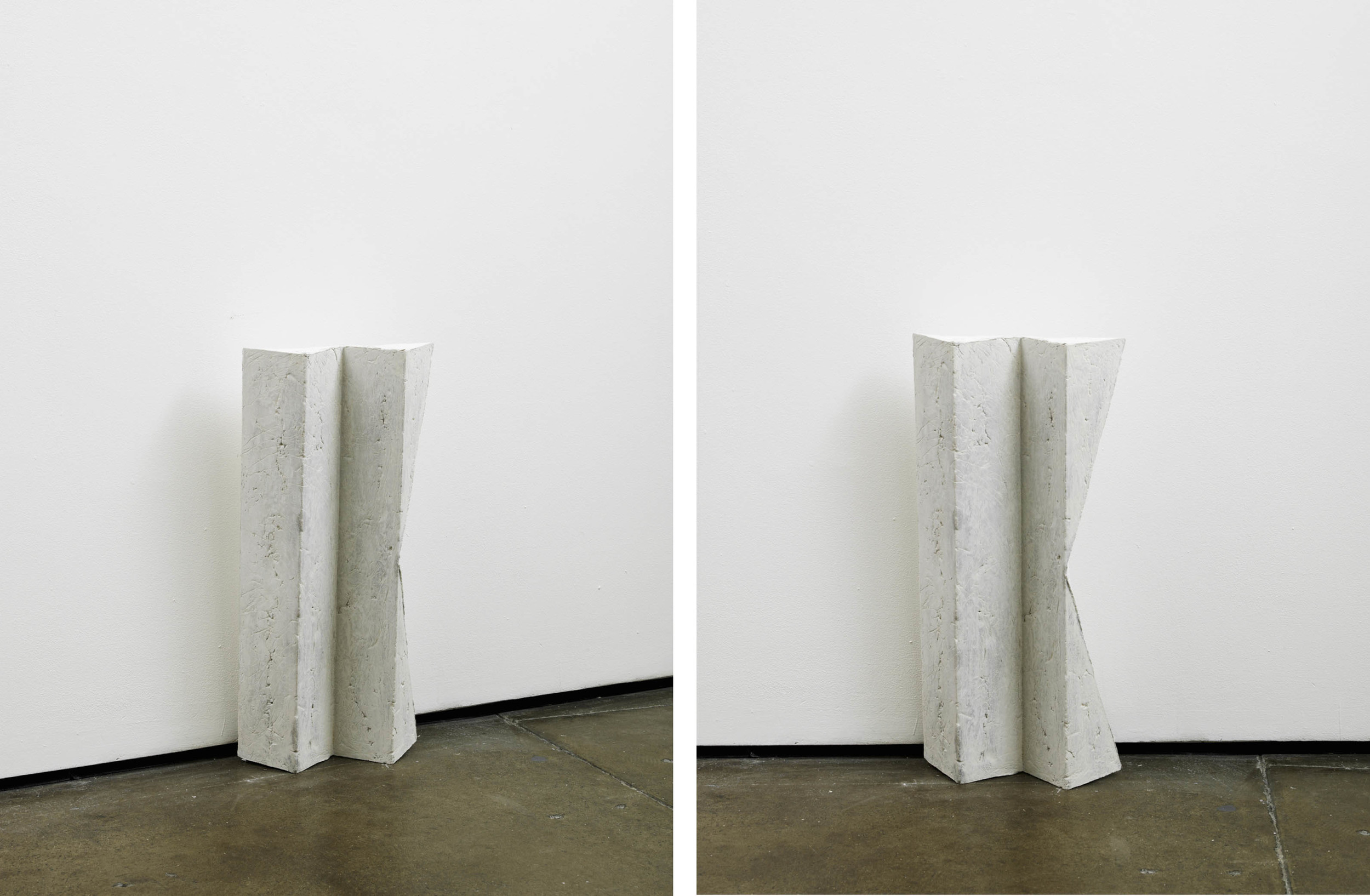 look (working title)  2012  Concrete  60 x 30 x 10 cm / 23.6 x 11.8 x 3.9 in