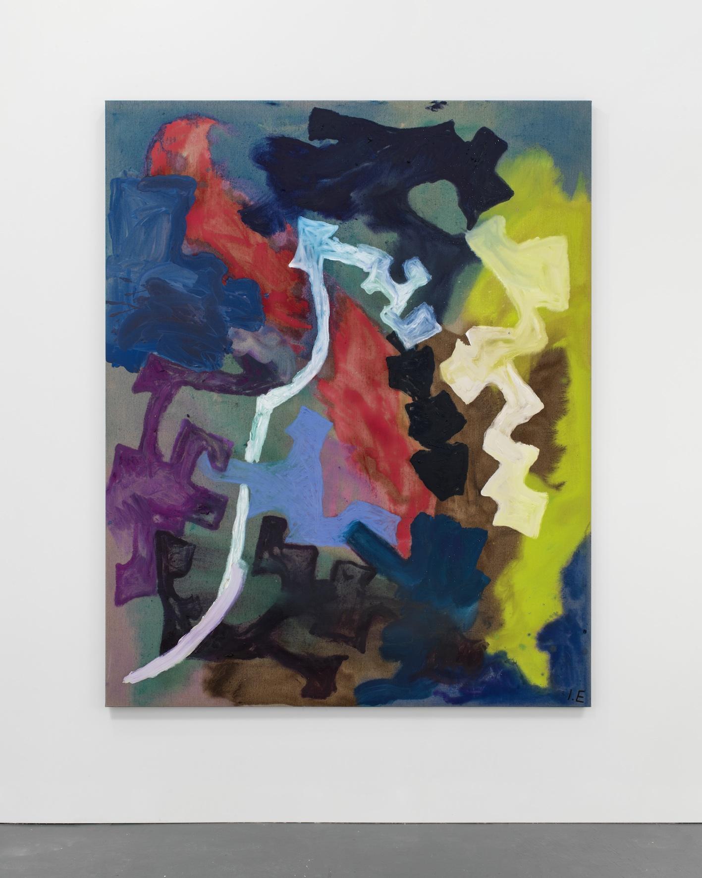 Grifter's Theater  2013  Oil on linen  200 x 160 cm / 78.7 x 62.9 in