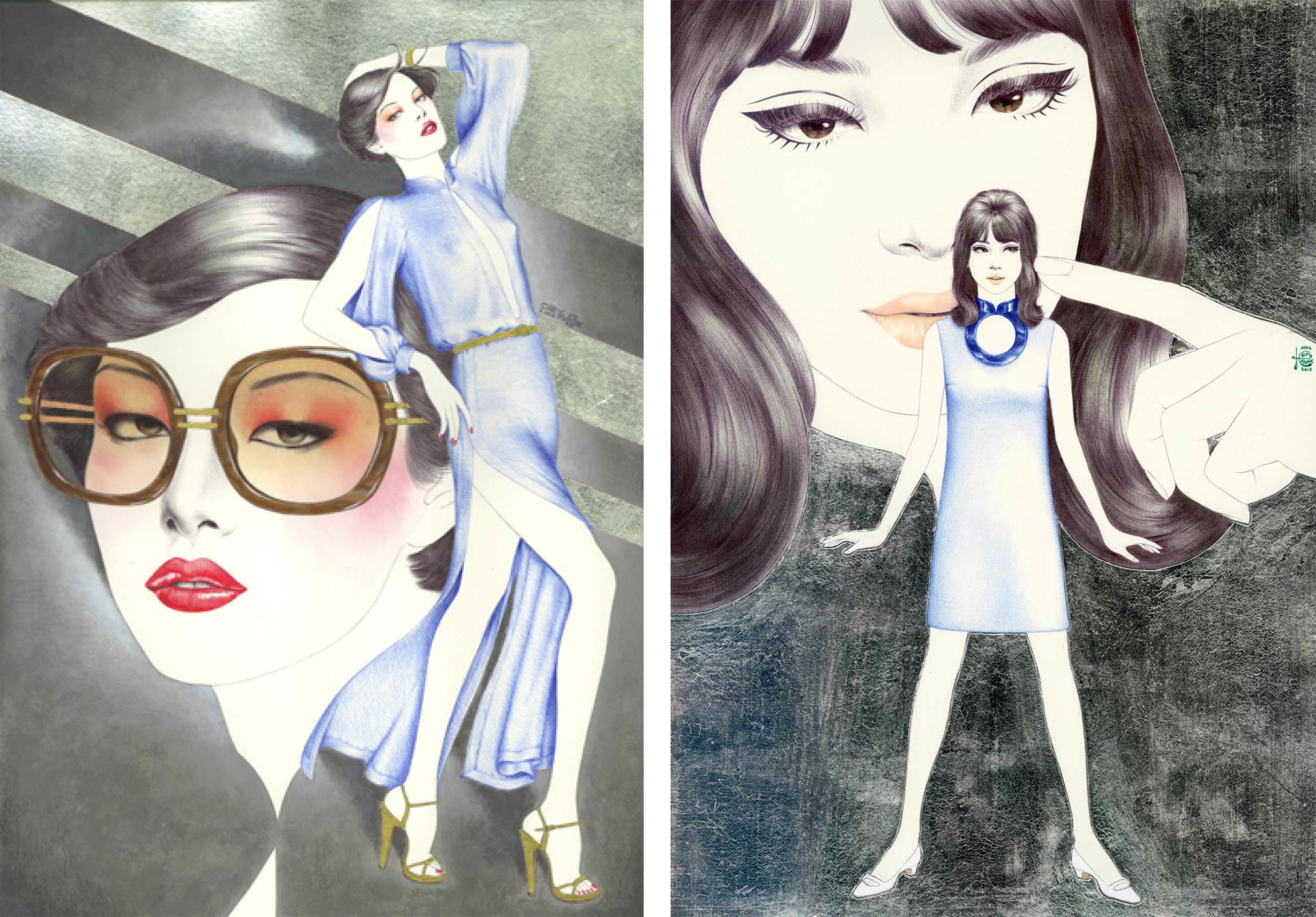 Qipao  旗袍  - Hong Kong  香港  (1970s)  Qipao  旗袍  - Hong Kong  香港  (1960s)  2012