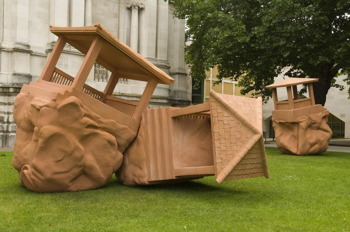 The Large Huts  Installation View Tate Britain, London, UK  2007