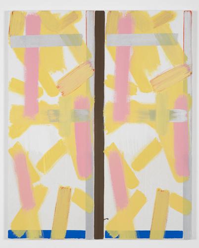 Bernard Piffaretti Sans titre 2013 Acrylic on canvas 81 x 65 cm / 31.8 x 25.5 in