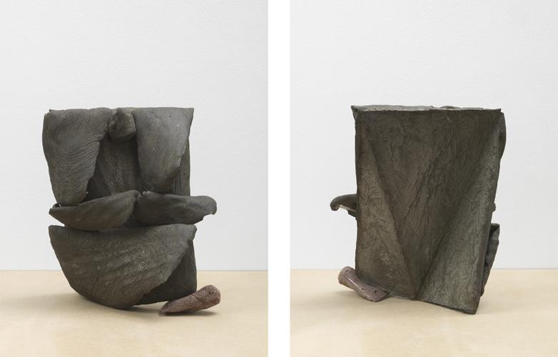 ha ha ha ha ha ha ha (Working Title) analogue series (tongue) 2013 Concrete, glue 41 x 35 x 28 cm / 16.1 x 13.7 x 11 in