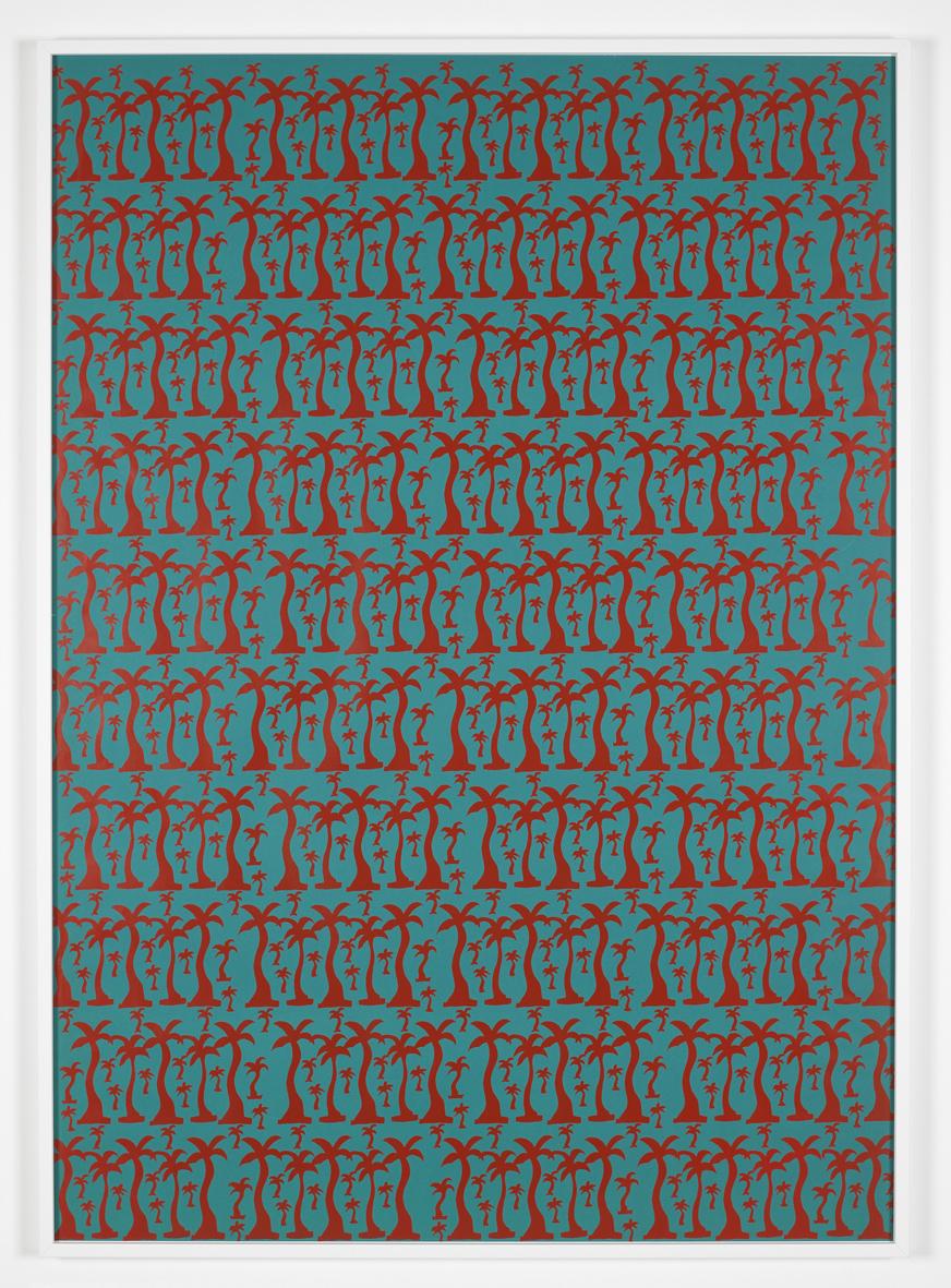 Untitled  1968/9  Screenprint  120 x 90 cm / 47.2 x 35.4 in, framed