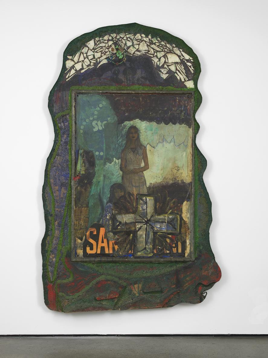 Untitled (Altar)  1972  Mixed media  240 x 130 x 15 cm / 94.4 x 51.1 x 6 in