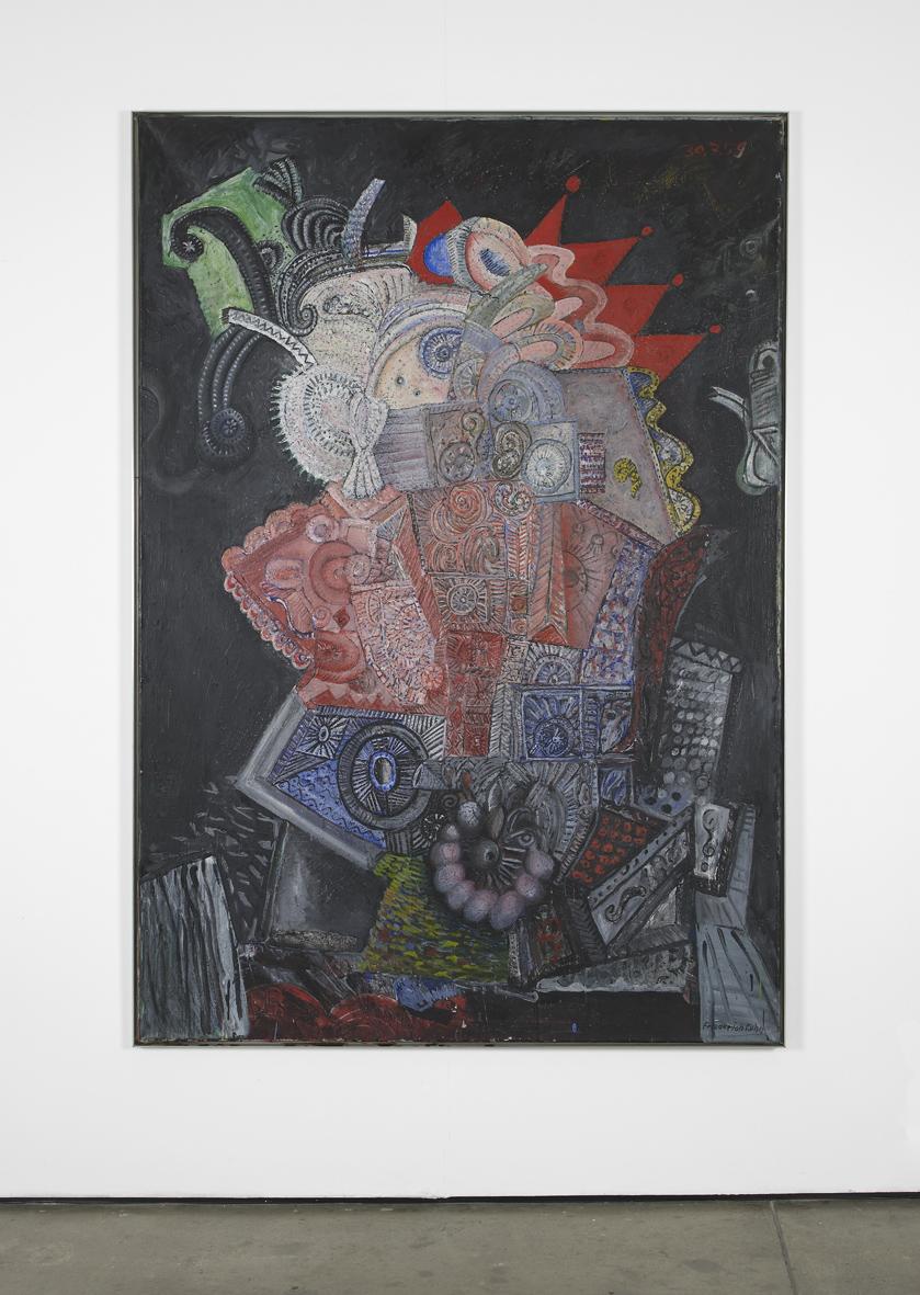 Orientalische Nacht  1959  Oil on canvas  199 x 139 cm / 78.3 x 54.7 in