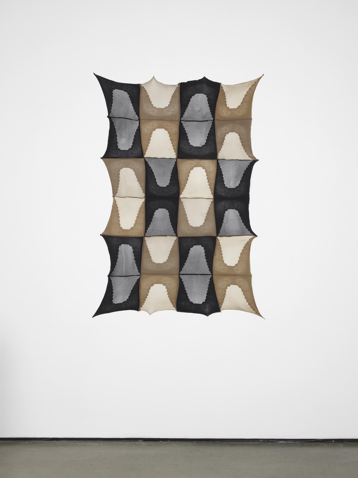 Repeat I 2012 90% nylon, 10% elastane, fabric stiffener 142 x 97.5 cm / 55.9 x 38.4 in