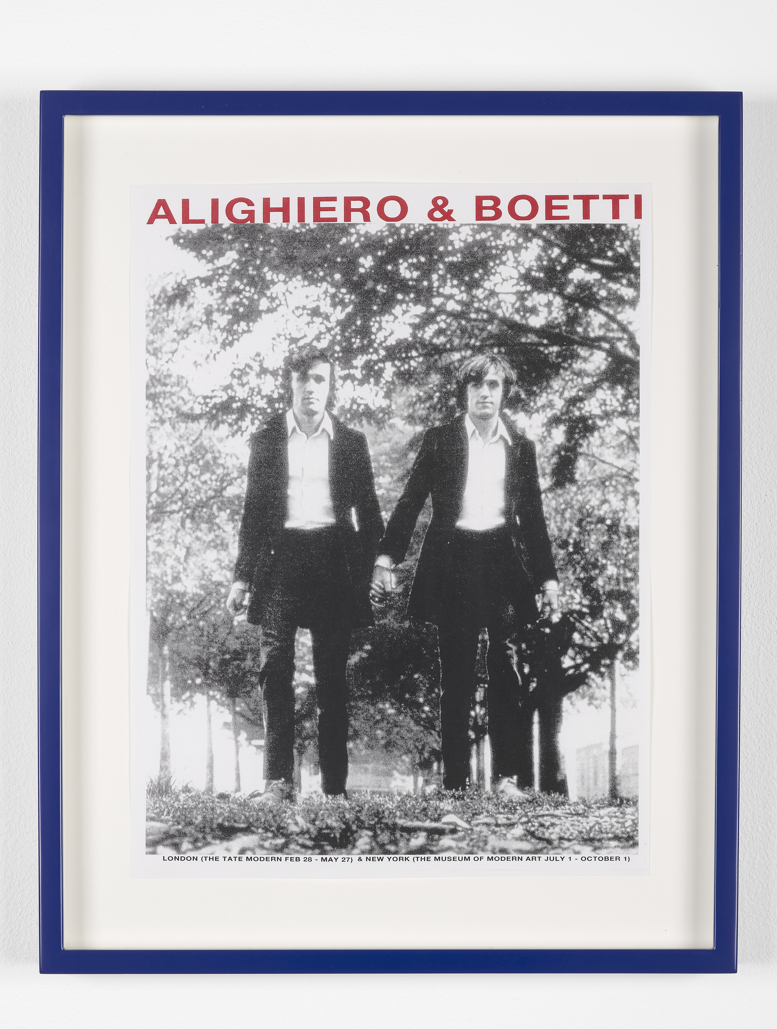 Marc Hundley Alighiero & Boetti 2012 Ink on paper 29.7 x 21 cm / 11.7 x 8.2 in