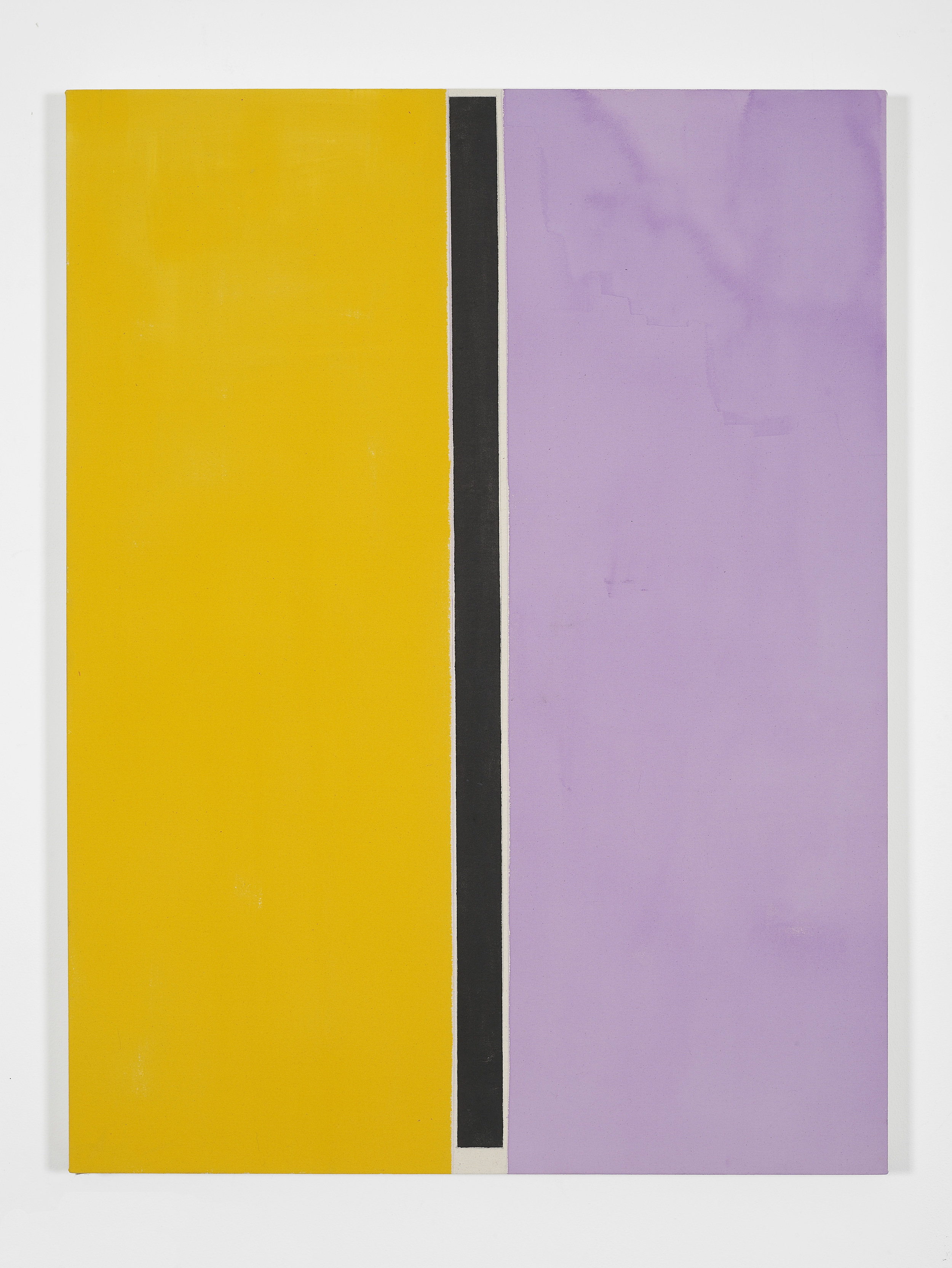 Matt Connors Divot 2012 Acrylic and pencil on canvas 122 x 92 cm / 48 x 36 in