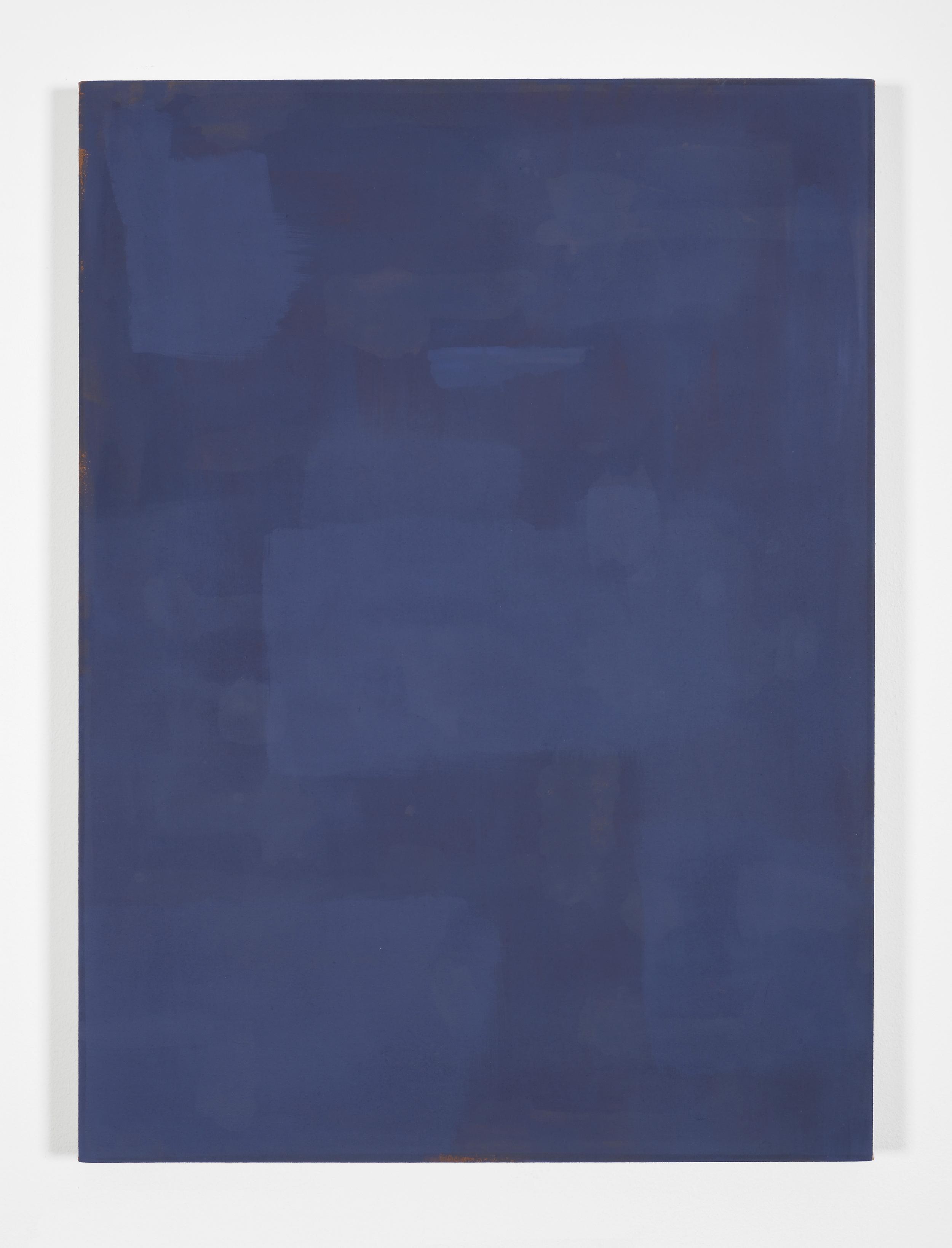 Matt Connors Progressive Corrections 2012 Acrylic on canvas 86 x 64 cm / 34 x 25 in