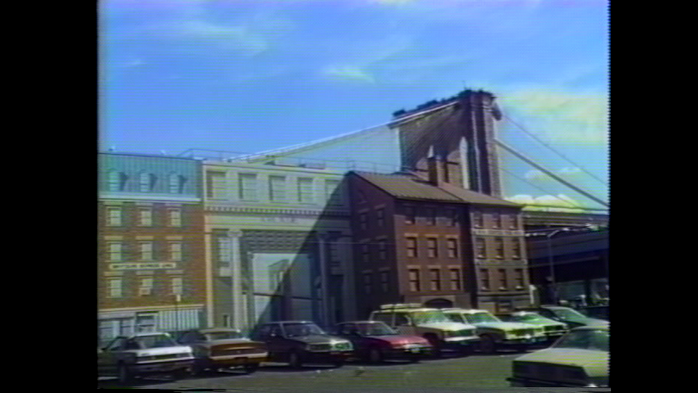 Chris Kraus How to Shoot a Crime 1987 VHS transfer to DVD, colour / sound