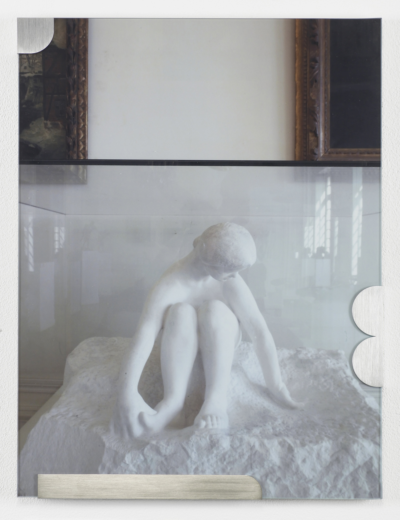 Buhuu Suite (Girl in snow) 2011 C-print, stainless steel clips, clip frame 40 x 30 x 1.5 cm / 15.7 x 11.8 x 0.6 in