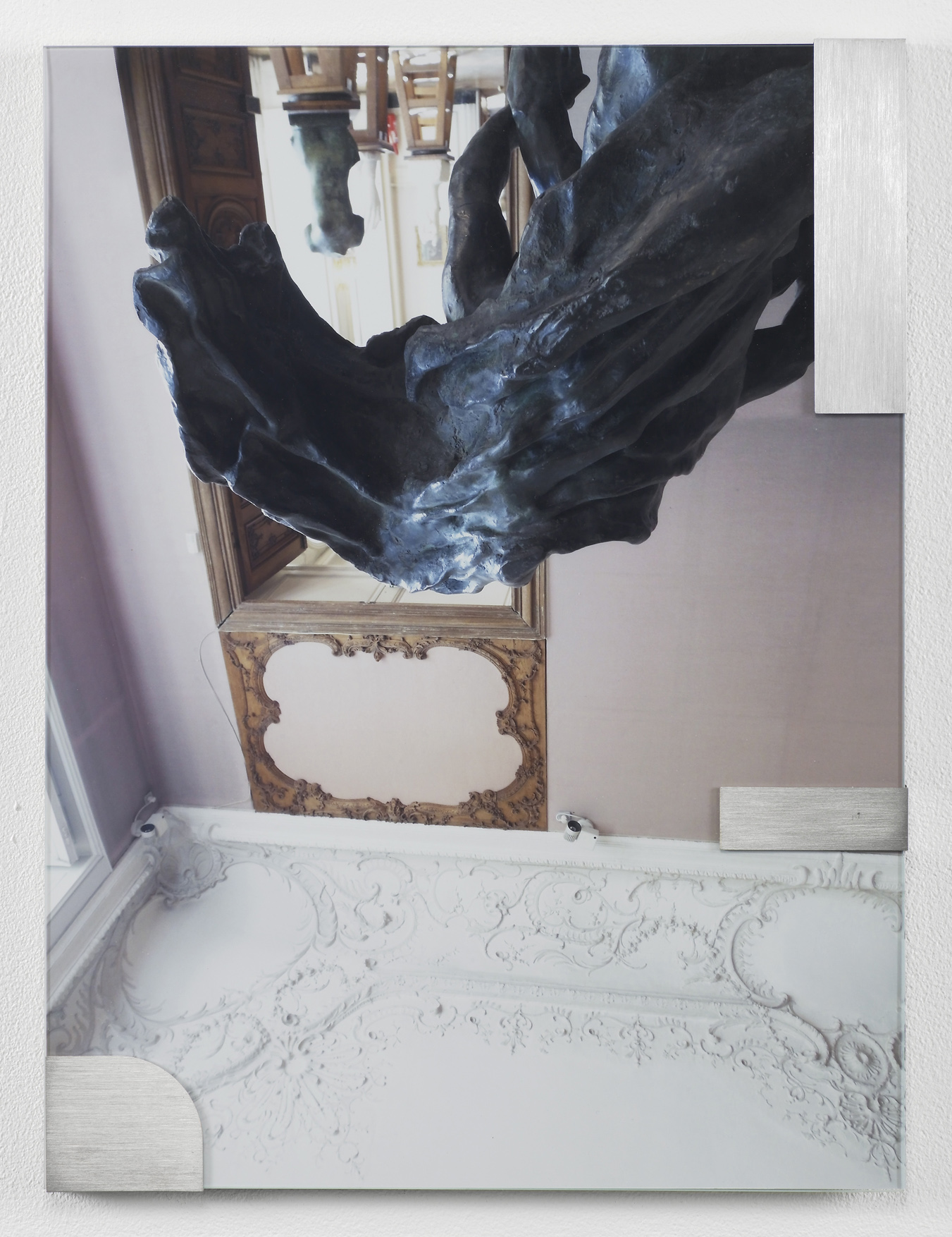 Buhuu Suite (Upside down cloak) 2011 C-print, stainless steel clips, clip frame 40 x 30 x 1.5 cm / 15.7 x 11.8 x 0.6 in