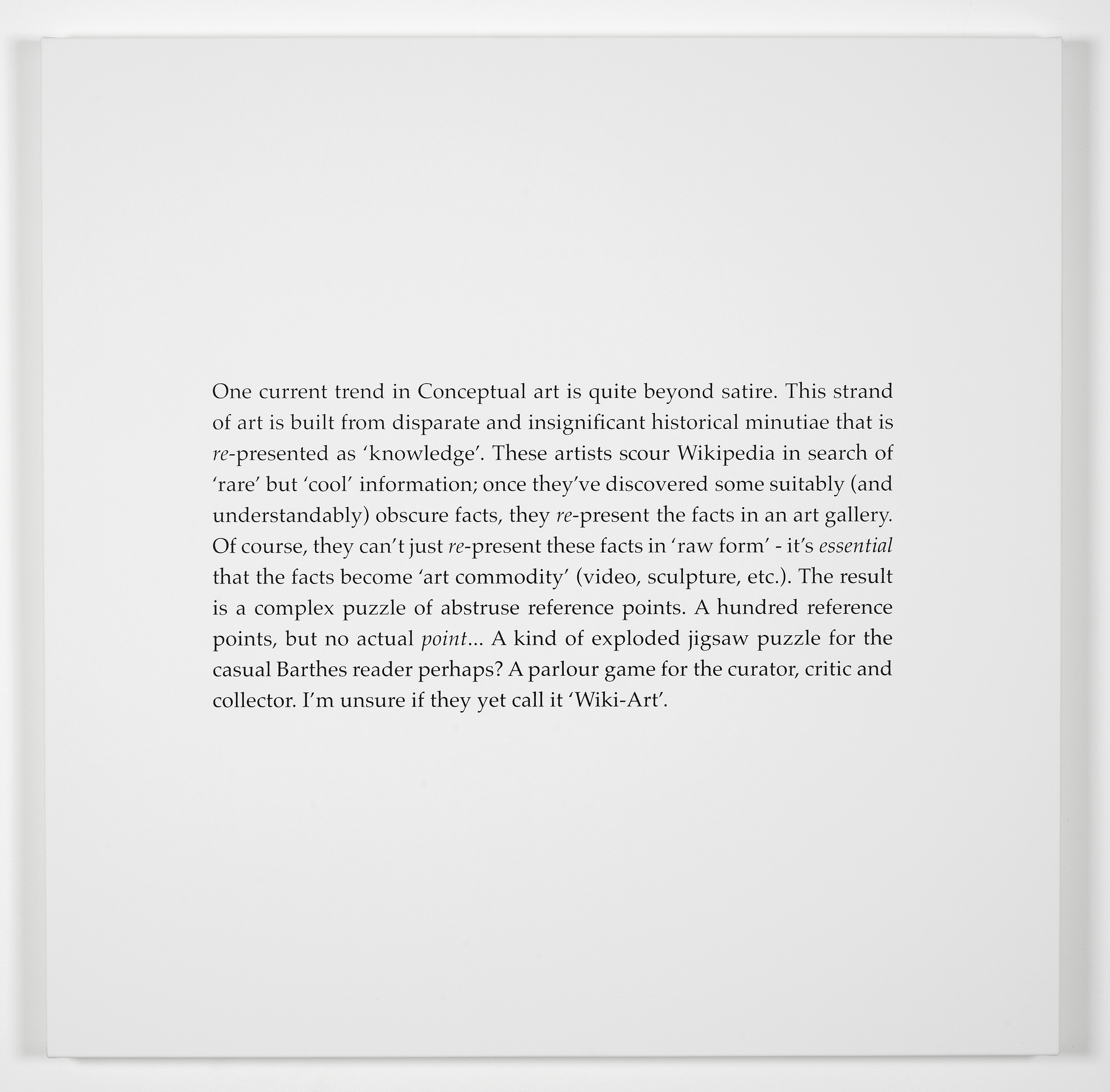 Scott King Art and Politics: A Reappraisal 2011 Screenprint on canvas:90 x 90 cm / 35.4 x 35.4 in