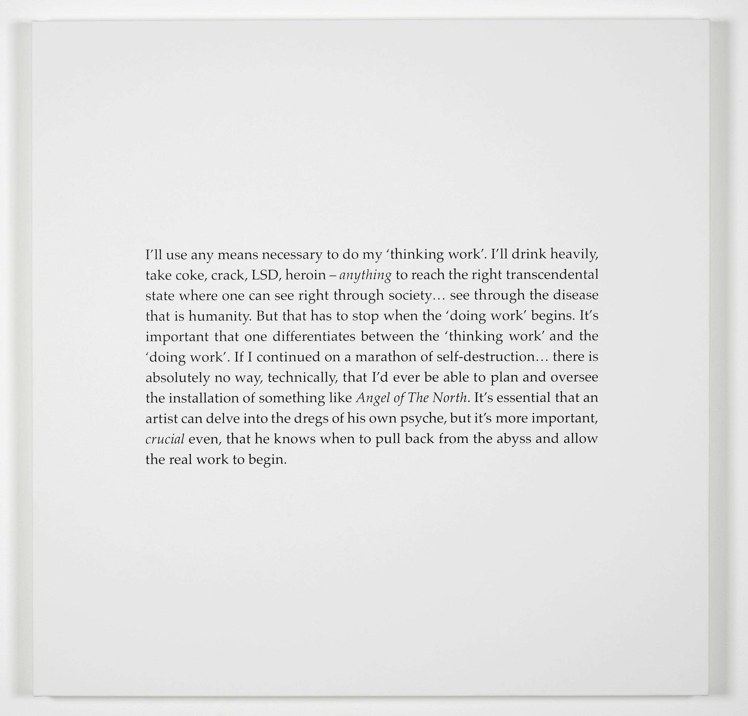 Scott King Iron Man (Ways of Seeing) 2011 Screenprint on canvas:90 x 90 cm / 35.4 x 35.4 in