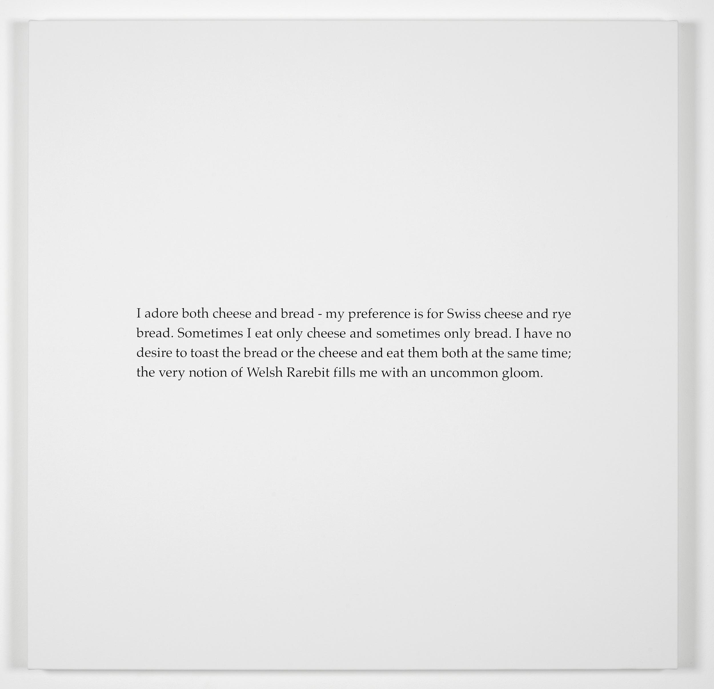 Scott King The Blue Book 2011 Screenprint on canvas:90 x 90 cm / 35.4 x 35.4 in