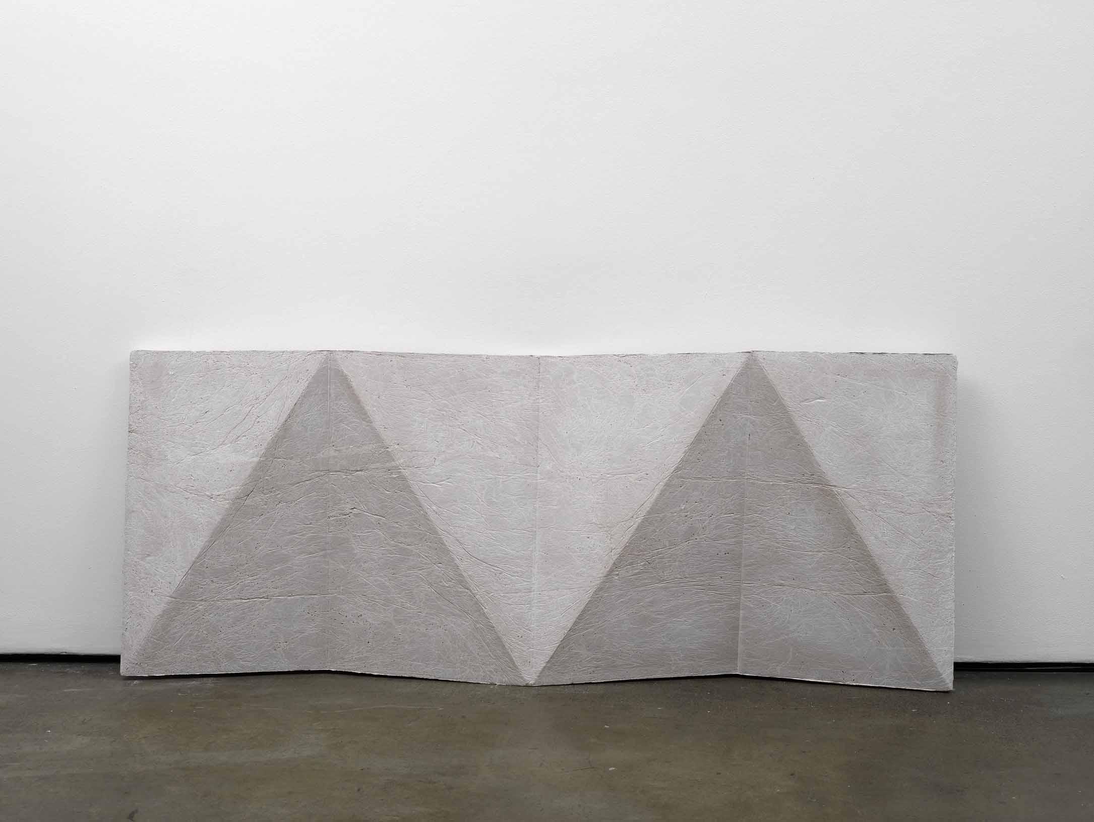 cope (working title)   2011   Concrete   78 x 198 x 14 cm / 30.7 x 78 x 5.5 in
