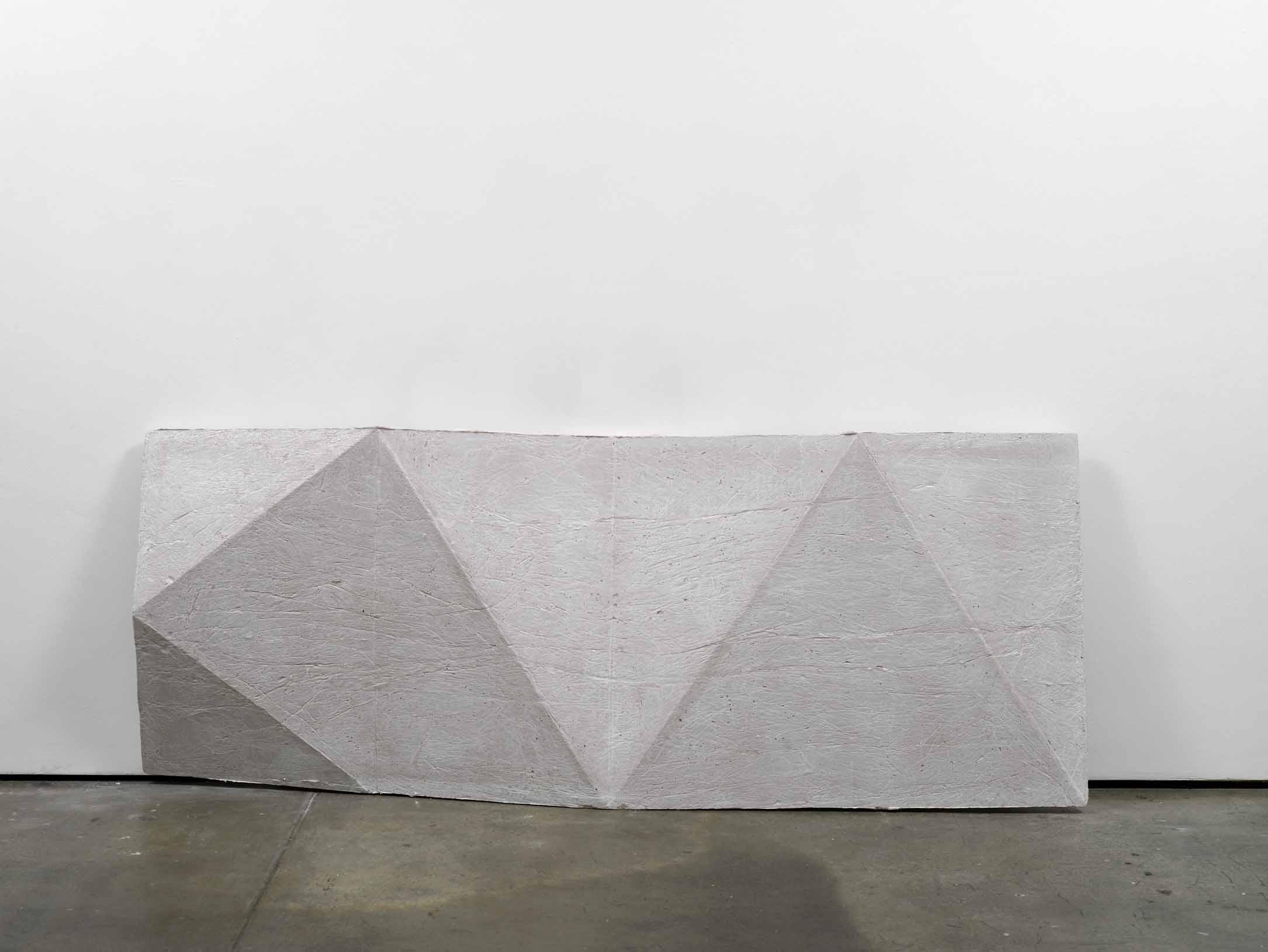 cope (working title) 2011 Concrete 77 x 200 x 13 cm / 30.3 x 78.7 x 5 in