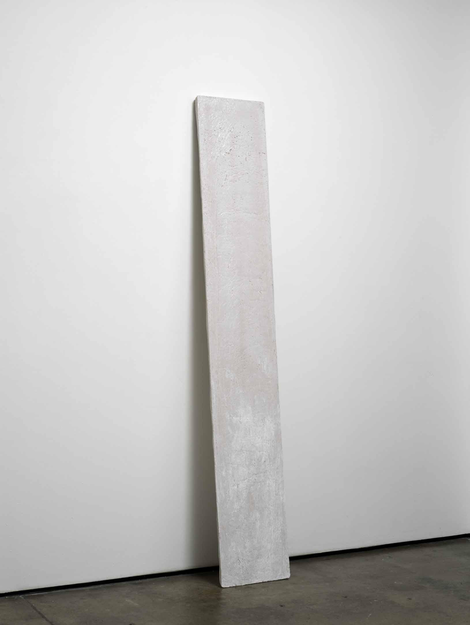 j (working title)    2011    Concrete    200 x 32 x 2.5 cm / 78.7 x 12.5 x 1 in