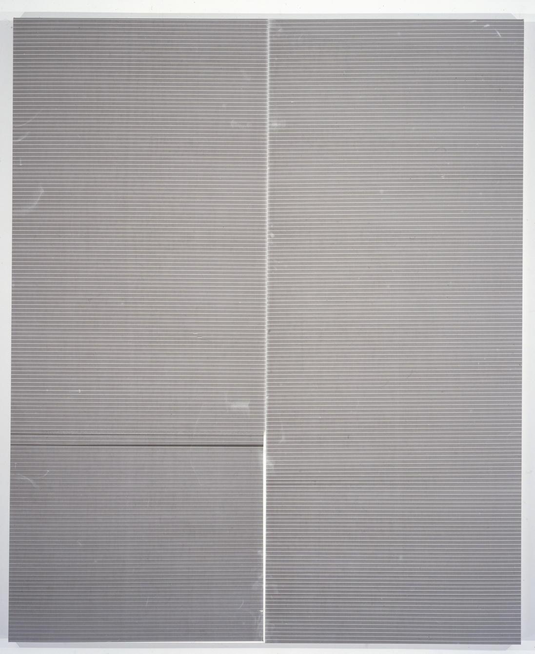 Wade Guyton   Untitled   Epson ultrachrome inkjet on linen   213.4 x 175.3 cm / 84 x 69 In
